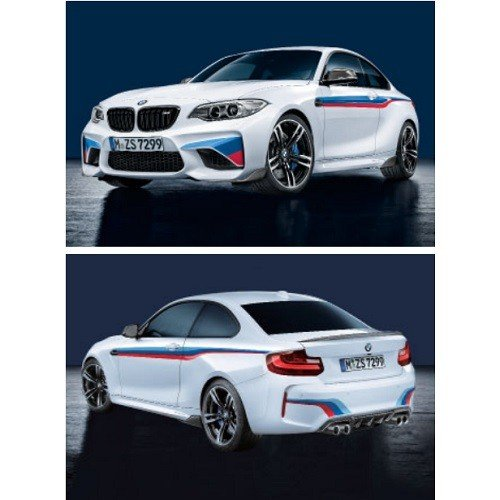 BMW F87 M2 M Performance モータースポーツ・ストライプ