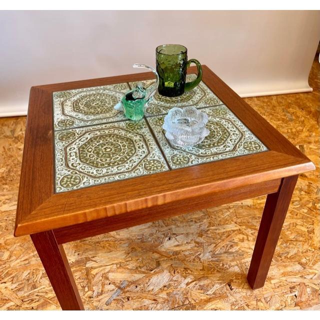 コーヒーテーブル / タイルテーブル / 北欧家具 / デンマーク / チーク|apetera