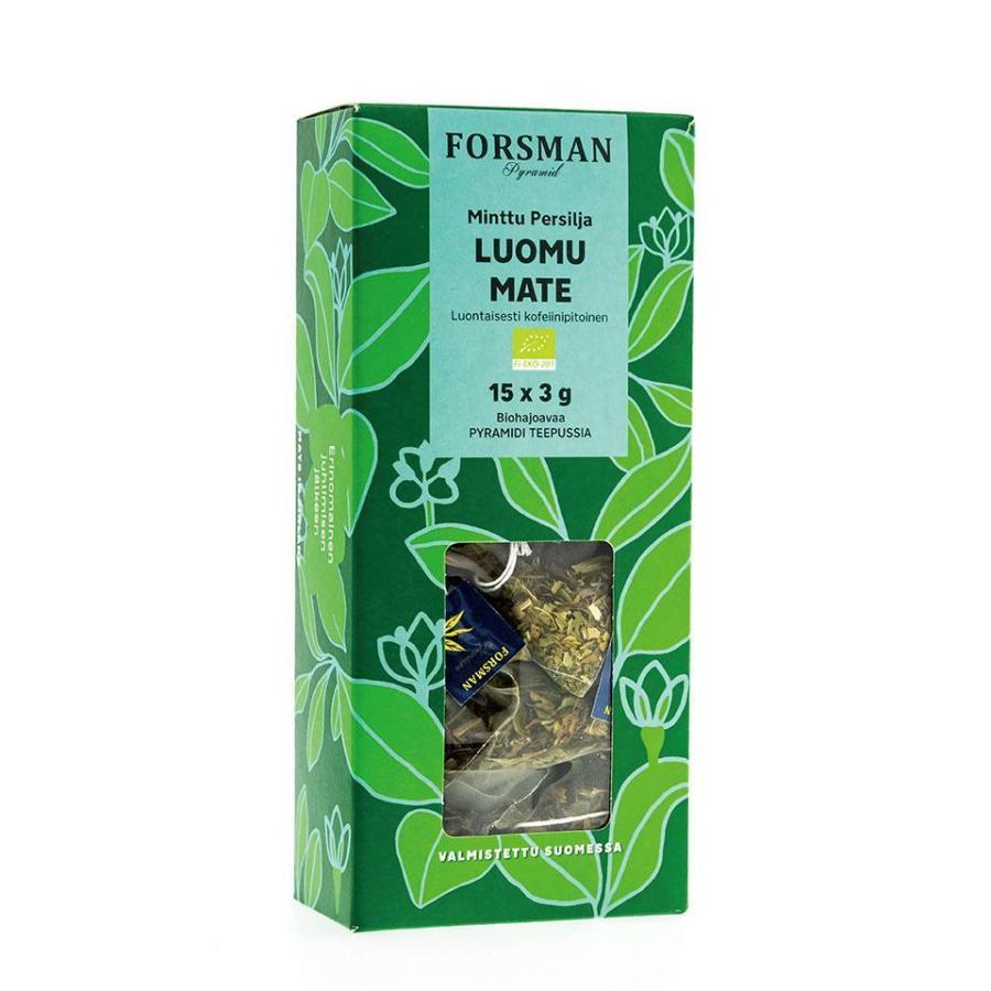 フィンランドティー / forsman tea / ミント パセリ マテ茶 / ノンカフェイン / Finland|apetera