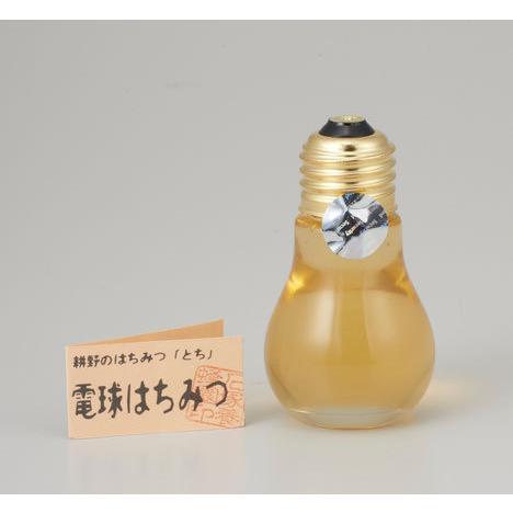 【電球はちみつ】耕野のはちみつ電球はちみつ70g(とち)|apisyohoen