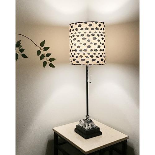 アニマル柄シェードのお洒落なテーブルランプ(1灯) モダン スタイリッシュ ライト 照明 おしゃれ 海外 輸入 デザイン インテリア 飾り 40W