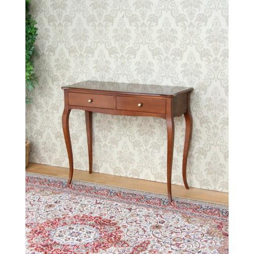 ヨーロッパ家具、イタリアから届いたコンソールテーブル(引出し付) 飾り台 イタリア家具 玄関収納 リビング 電話台 引出し 輸入家具 ヨーロピアン クラシック