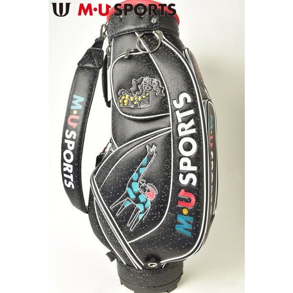 【オープニングセール】 MUスポーツ M・U SPORTS ゴルフ 2019春夏新作 レディース キャディバッグ, ディーライズ2号店 000615a5