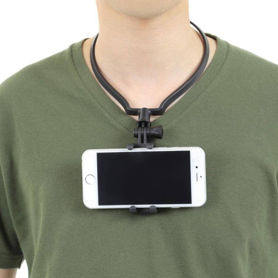 GoPro ゴープロ 用 アクセサリー ネックレス式マウント hero8 hero7 MAX スマホ その他アクションカメラ対応|apluscamera|12