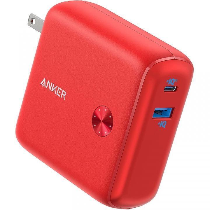 ギフト 注目ブランド Anker PowerCore Fusion 10000 レッド モバイルバッテリー