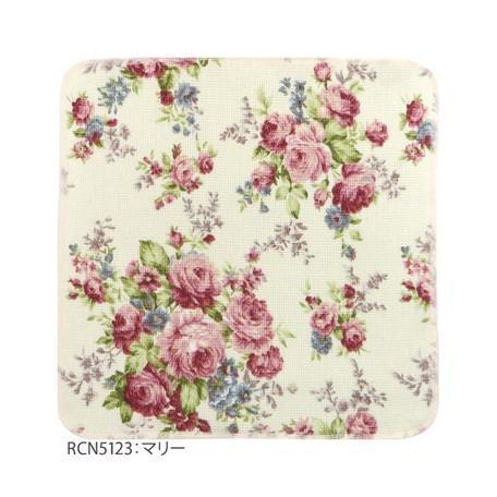 薔薇柄 綿ふきん ディッシュクロス 柄違い3枚セット 綿100% 日本製 メール便送料無料|applemint-zakka2|04