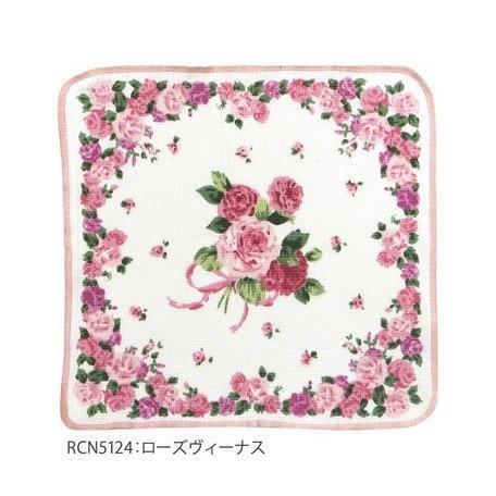 薔薇柄 綿ふきん ディッシュクロス 柄違い3枚セット 綿100% 日本製 メール便送料無料|applemint-zakka2|06