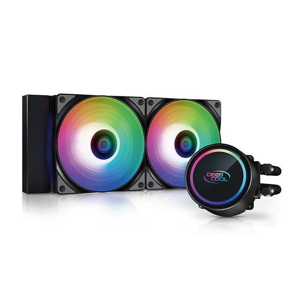 お得 Deepcool ディープクール ARGB簡易水冷クーラー 正規店 GAMMAXX L240 DP-H12CF-GL240-ARGB 0146-6933412727163 お取り寄せ ARGB