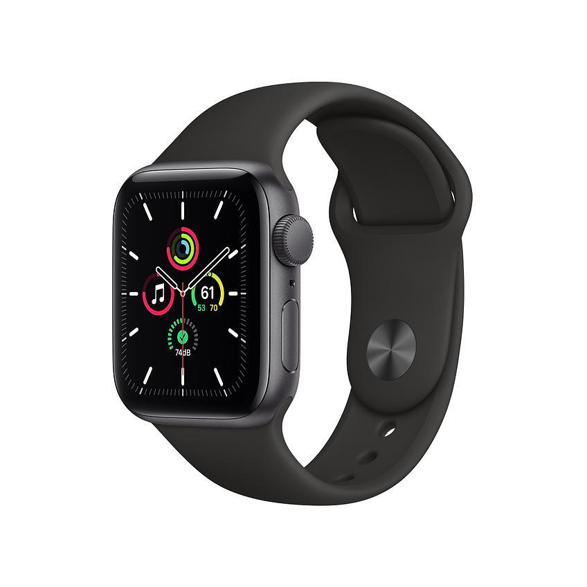 毎週日曜日 最大22%還元 Apple Watch SE GPSモデル 本体 注目ブランド 6501-2210070316101-2210070308823 中古 ブラックスポーツバンド MYDP2JA 40mm A アップル MYDP2J