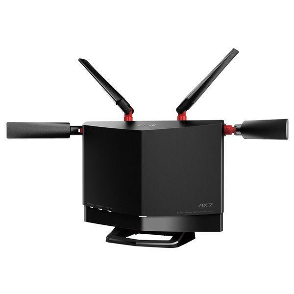 無線LANルーター Wi-Fiルーター バッファロー BUFFALO ◆高品質 AirStation 6501-4981254055380 WXR5700AX7S Wi-Fi6対応 WXR-5700AX7S ブラック お気に入り