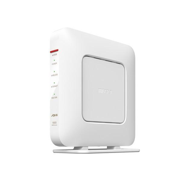 無線LANルーター Wi-Fiルーター バッファロー WiFi6 WSR-1800AX4S-WH [並行輸入品] AirStation WSR1800AX4SWH 本店 6501-4981254058671 ホワイト