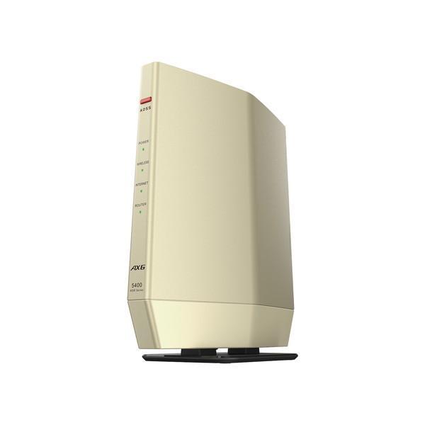 BUFFALO 無線LANルーター Wi-Fiルーター AirStation WSR-5400AX6S-CG 現品 シャンパンゴールド 新作アイテム毎日更新 6501-4981254058732 WSR5400AX6SCG WiFi6