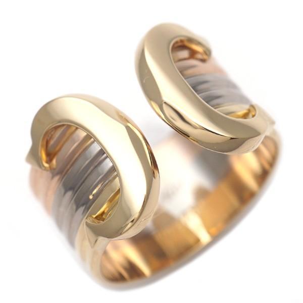 お手頃価格 【S/新品仕上げ】CARTIER カルティエ 2C K18YG/WG/PG リング・指輪 52/12号 20232644, デジタル&バラエティ キョーエー f682230f