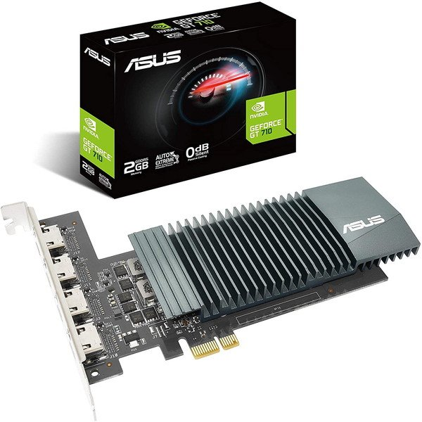 ASUS ストアー GT710-4H-SL-2GD GeForce 正規店 GT PCIExp グラフィックカード 2GB