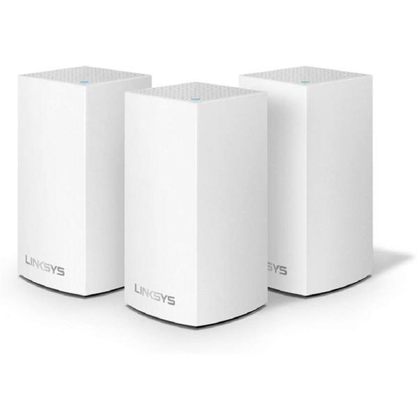 BELKIN WHW0103-JP ホワイト LINKSYS VELOP メッシュWiFi無線LANルーターデュアルバンド 3個パック