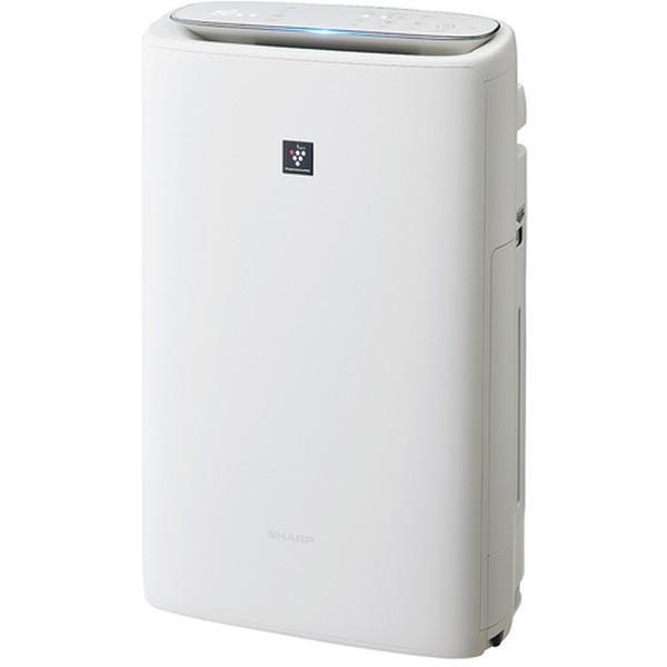 SHARP 誕生日/お祝い KI-LS50-W ホワイト系 空気清浄〜23畳 加湿空気清浄機 加湿〜15畳 予約販売