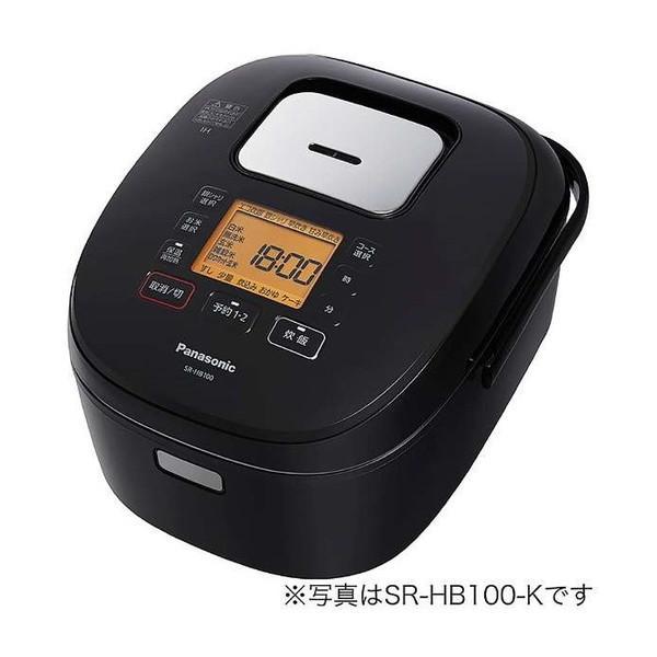 PANASONIC SR-HB180-K ブラック IHジャー炊飯器(1升炊き)