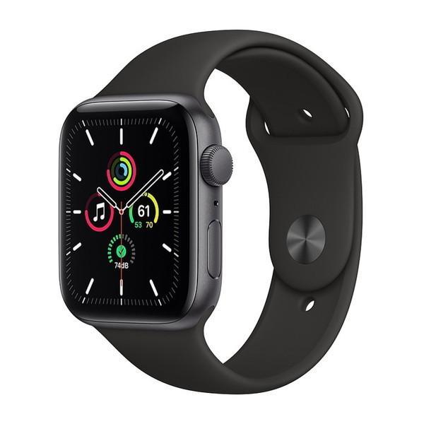 APPLE MYDT2J 爆売りセール開催中 A ブラックスポーツバン SE Apple GPSモデル アップルウォッチ Watch 新作からSALEアイテム等お得な商品 満載 44m