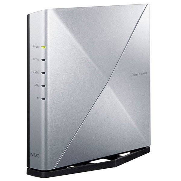 NEC PA-WX6000HP 売り出し Aterm 引出物 無線LANルーター IEEE802.11a b g n ax 4804+1147Mbps ac