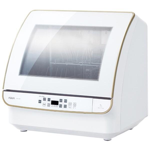 AQUA ADW-GM3 食器洗い機 超歓迎された ファッション通販 送風乾燥機能付き 4人分