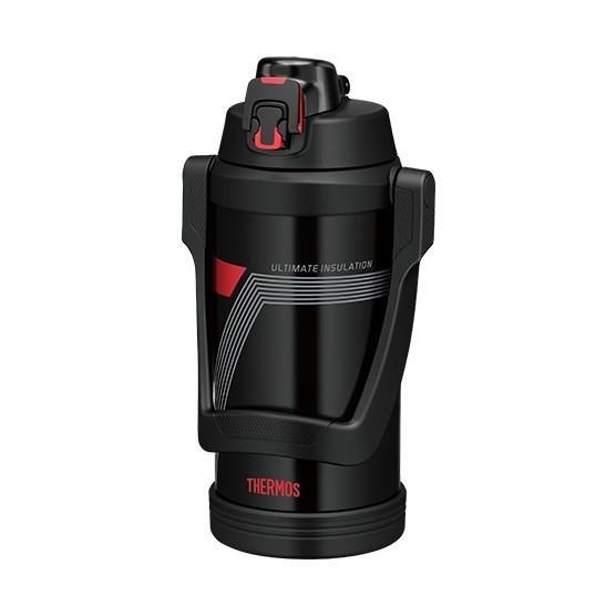 THERMOS 推奨 FJE-2000-BKR ファッション通販 ブラックレッド 真空断熱スポーツジャグ 2.0L