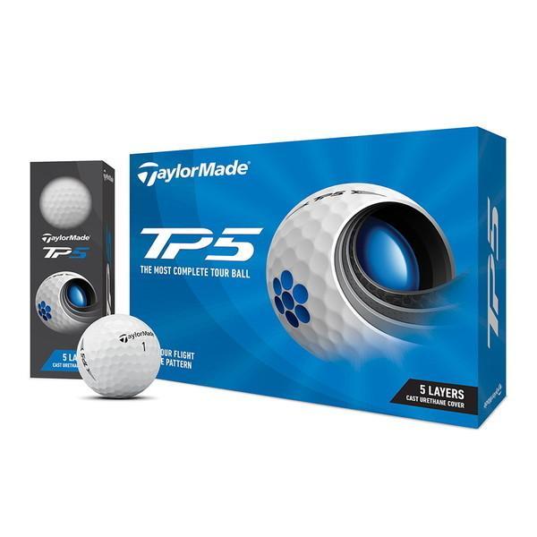 流行 超特価 日本正規品 TP5 ゴルフボール 2021年モデル ホワイト 12個入り 1ダース