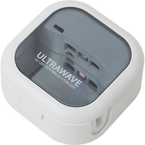 MEDIK MDK-TS03WH ホワイト ULTRAWAVE [充電式歯ブラシ除菌キャップ]