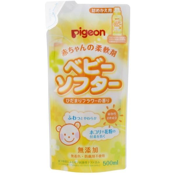 ピジョン 赤ちゃんの柔軟剤ベビーソフター香り付500ml替 販売実績No.1 贈物