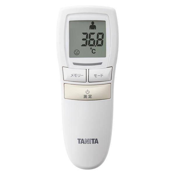 卓越 TANITA BT-541-IV アイボリー 高い素材 非接触体温計
