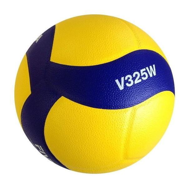 MIKASA V325W 黄 青 バレーボール5号 お求めやすく価格改定 練習球 大学 一般 高校用 新品未使用正規品