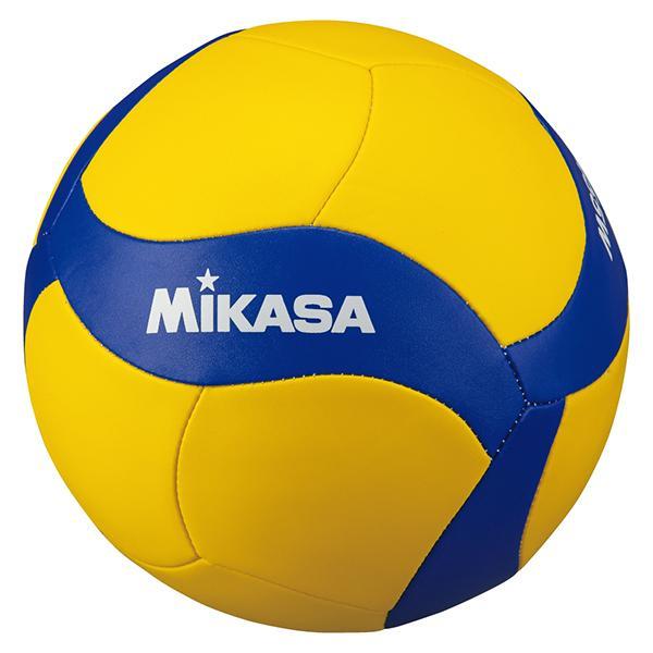 MIKASA V455W 期間限定で特別価格 黄 青 小学生 在庫あり 中学生 バレーボール4号 家庭婦人用