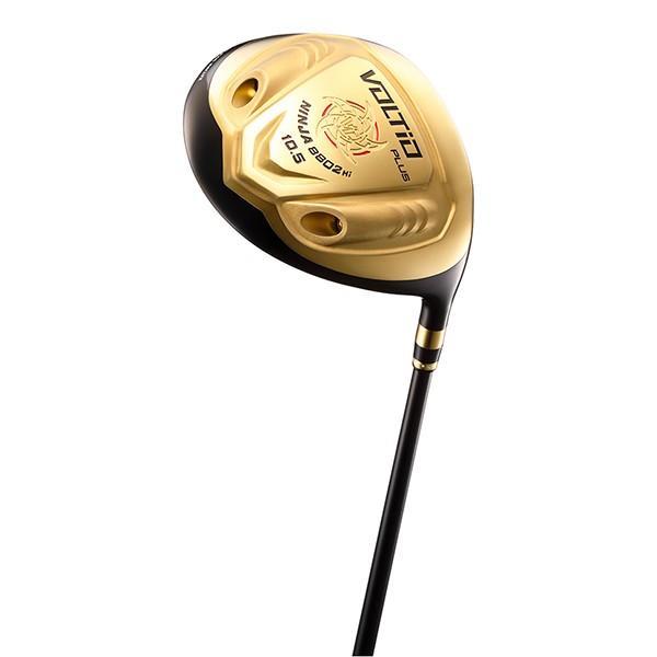 カタナゴルフ VOLTIO NINJA PLUS(ボルティオニンジャ プラス) 8802Hi 超高反発 ゴールドドライバー オリジナルSpeeder 361 9.5 EL 日本正規品