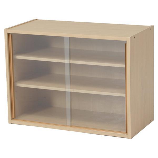 食器棚 ミニ食器棚 上置き キッチン収納 引き戸 スリム キッチンボード 贈答 希少 組立品 キャビネット ナチュラル 木製 幅60cm キッチンラック 一人暮らし