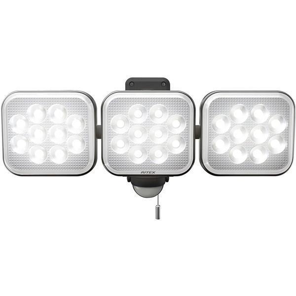 毎週更新 ムサシ LED-AC3036 RITEX 12W×3灯 新作 人気 フリーアーム式LEDセンサーライト