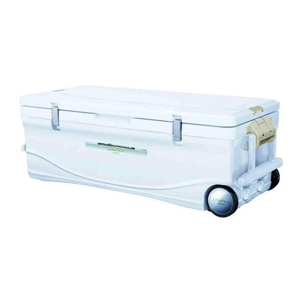 SHIMANO SPAZA WHALE LIMITED 600 HC-060I 白 スペーザ ホエール リミテッド 600 釣り用 クーラーボックス(60L) キャスター付き