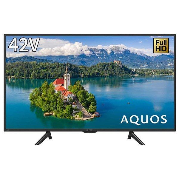 SHARP シャープ 2T-C42BE1 NEW ARRIVAL AQUOS アクオス 42V型 フルハイビジョン 市場 BS 液晶テレビ 地上 110度CSデジタル
