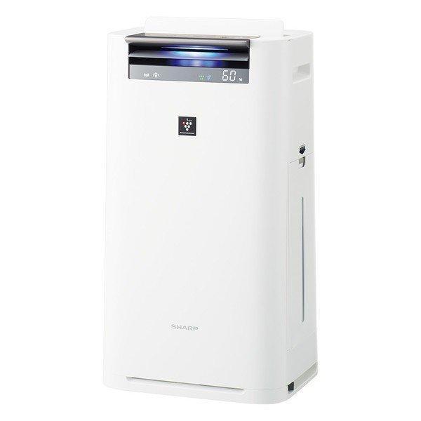 SHARP KI-LS50-W ホワイト系 加湿空気清浄機 (空気清浄〜23畳/加湿〜15畳)