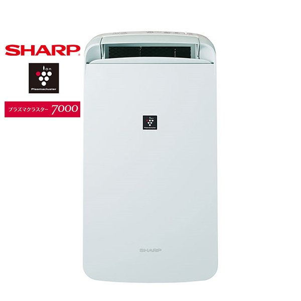 SHARP CM-L100 アイスホワイト系 定番キャンバス コンパクトクール 衣類乾燥除湿機 木造〜13畳 輸入 鉄筋〜25畳まで