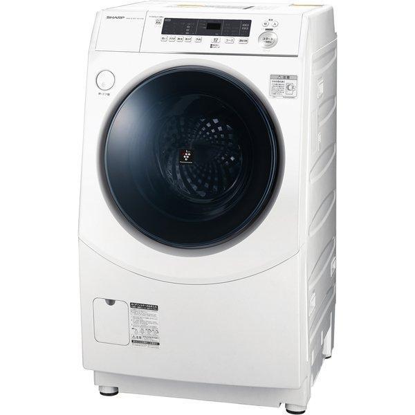 激安通販販売 SHARP ES-H10E-WR ホワイト 買い取り ドラム式洗濯乾燥機 乾燥6.0kg 右開き 洗濯10.0kg