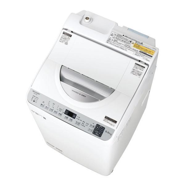 SHARP ES-TX5E シルバー系 洗濯乾燥機 乾燥3.5kg 店舗 洗濯5.5kg 年末年始大決算
