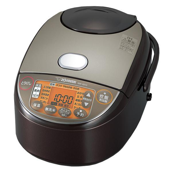 象印 炊飯器 NW-VB10-TA 5.5合炊き 無料サンプルOK ブラウン IH NWVB10 新品未使用 一人暮らし シンプル 人気 おすすめ 新生活 ふっくら おいしい