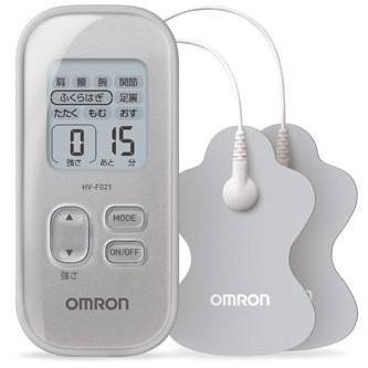 OMRON HV-F021-SL 低周波治療器 セールSALE%OFF シルバー 未使用