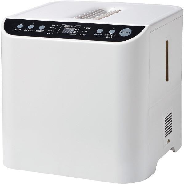 ユアサプライムス YHN-1200B-W ホワイト スチームファン式加湿器(木造20畳まで/プレハブ洋室33畳まで)