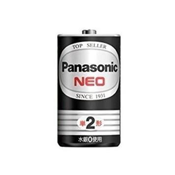 PANASONIC マンガン乾電池ネオ黒単2(20本入)