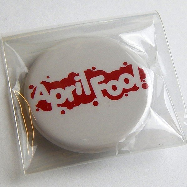 AprilFoolロゴ 缶バッジ/32mm【小物 雑貨 グッズ 缶バッジ】|aprilfoolstore|02