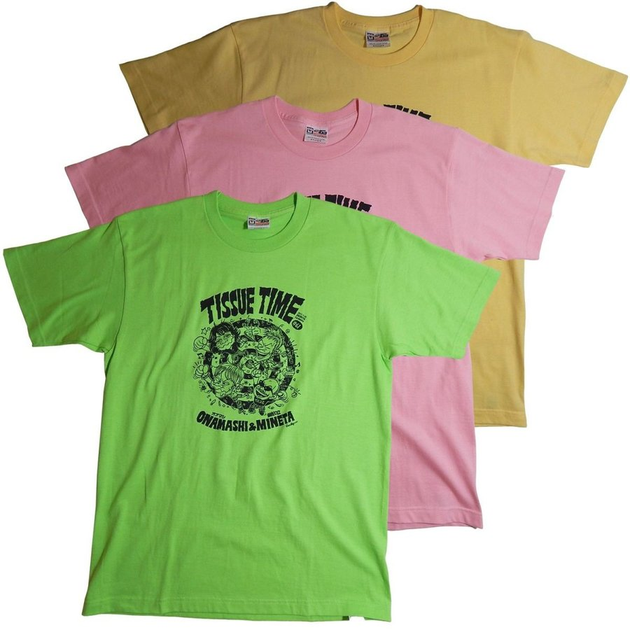 オナニーマシーン:オナマシ×銀杏BOYZ 「ティッシュタイム61」Tシャツ/メンズ&レディース/ファッション バンド Tシャツ/メール便対応可|aprilfoolstore