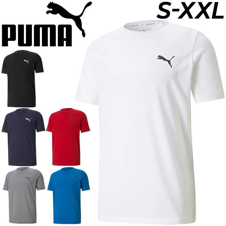 半袖 格安 Tシャツ メンズ プーマ PUMA ACTIVE スモールロゴ TEE スポーツウェア シンプル トップス 男性1 カジュアル 爆買いセール 取寄 ワンポイント トレーニング 588866