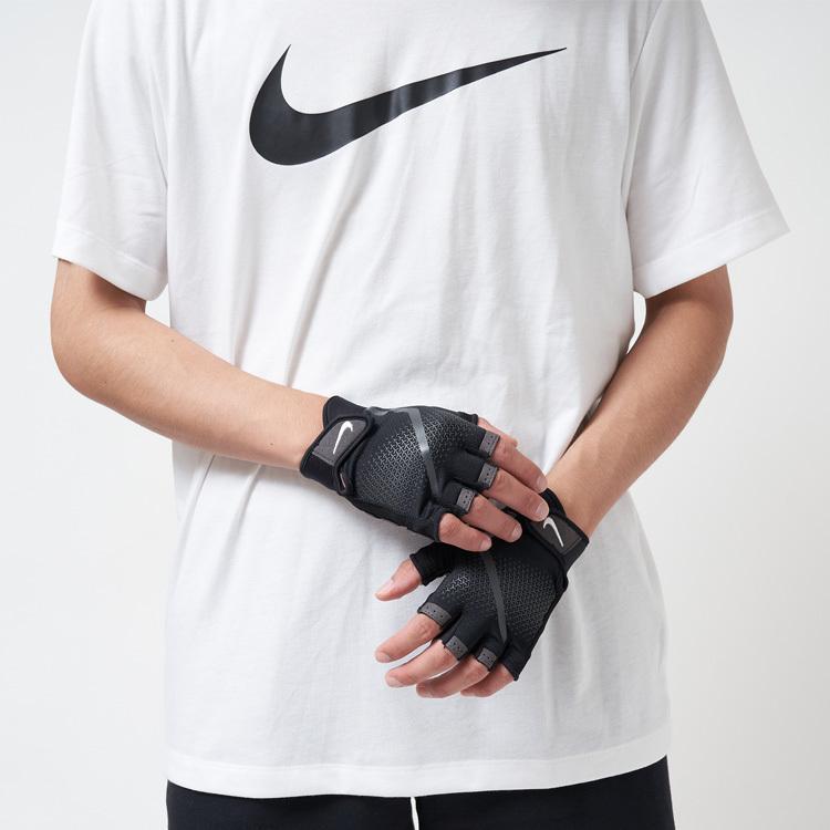 手袋 トレーニング メンズ ナイキ NIKE エクストリーム フィットネスグローブ 筋トレ ギア 黒 ブラック AT1020-945 スポーツ 男性 返品交換不可 NEW ジム てぶくろ