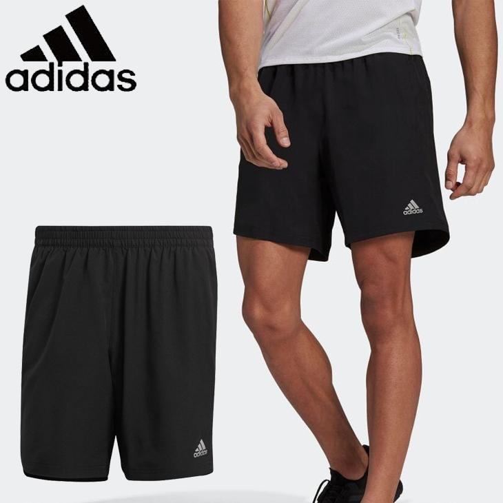 ランニングパンツ メンズ アディダス adidas ラン イット ショーツ 信憑 ハーフパンツ トレーニング 訳あり品送料無料 Run BG408 ジョギング ジム スポーツウェア It 男性 短パン