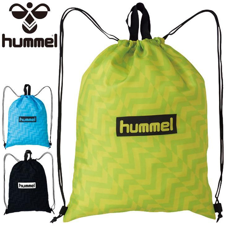 ジムサック ナップサック ヒュンメル hummel スポーツバッグ 出色 マルチバッグ 巾着 ポーチ メンズ 着替え HFB7106 シューズ入れ キッズ 期間限定の激安セール レディース ジュニア